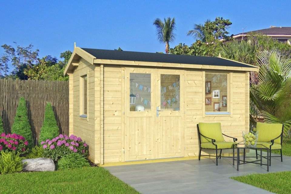 Amanda 44 – a small and versatile shed