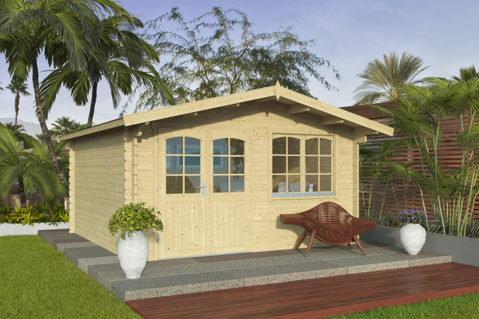 Bridget 44 – multipurpose garden room with classical styling