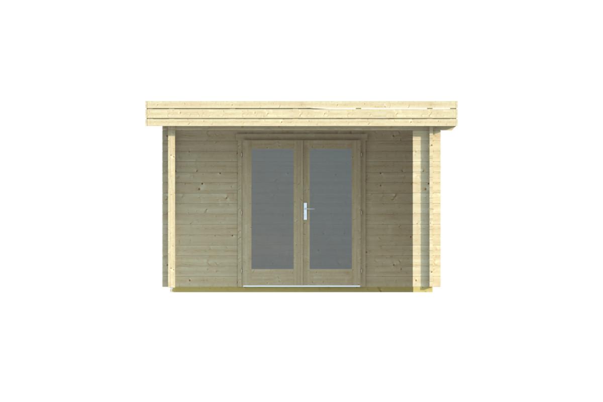 Berta 44 – a modern timber garden room