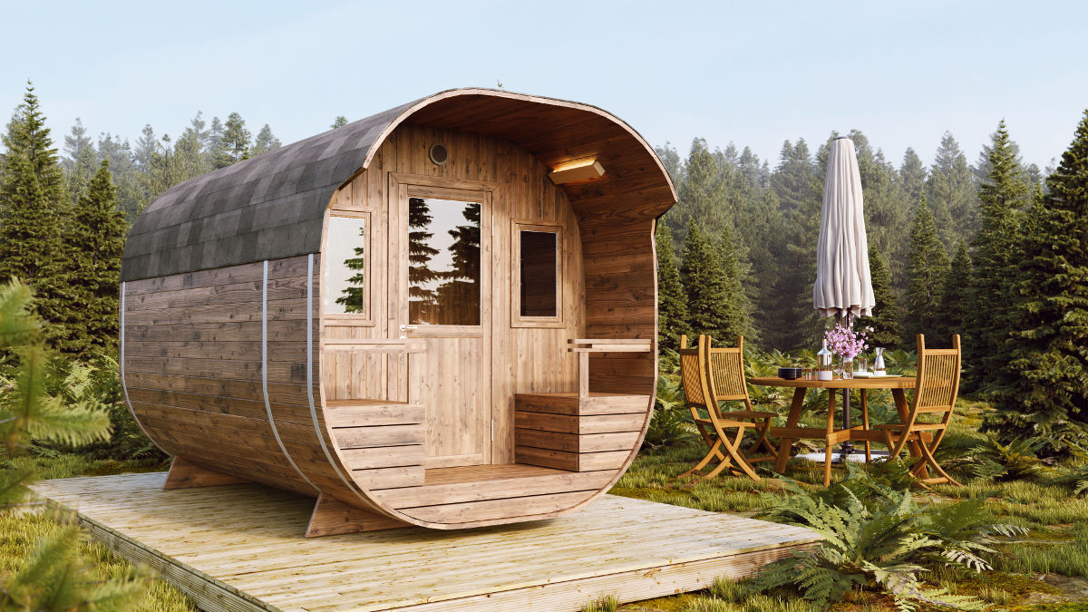 Glamping pod 2700 for 4 people