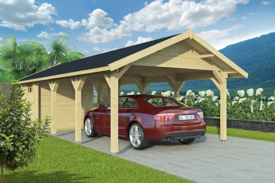 Carport and shed 44