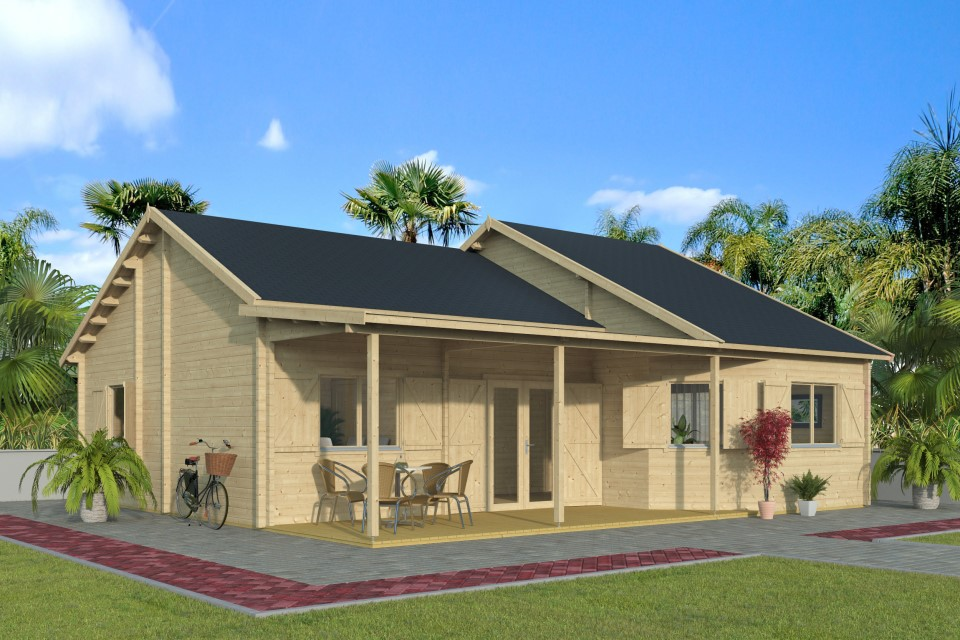 Carmen 70 – a summer house for the countryside