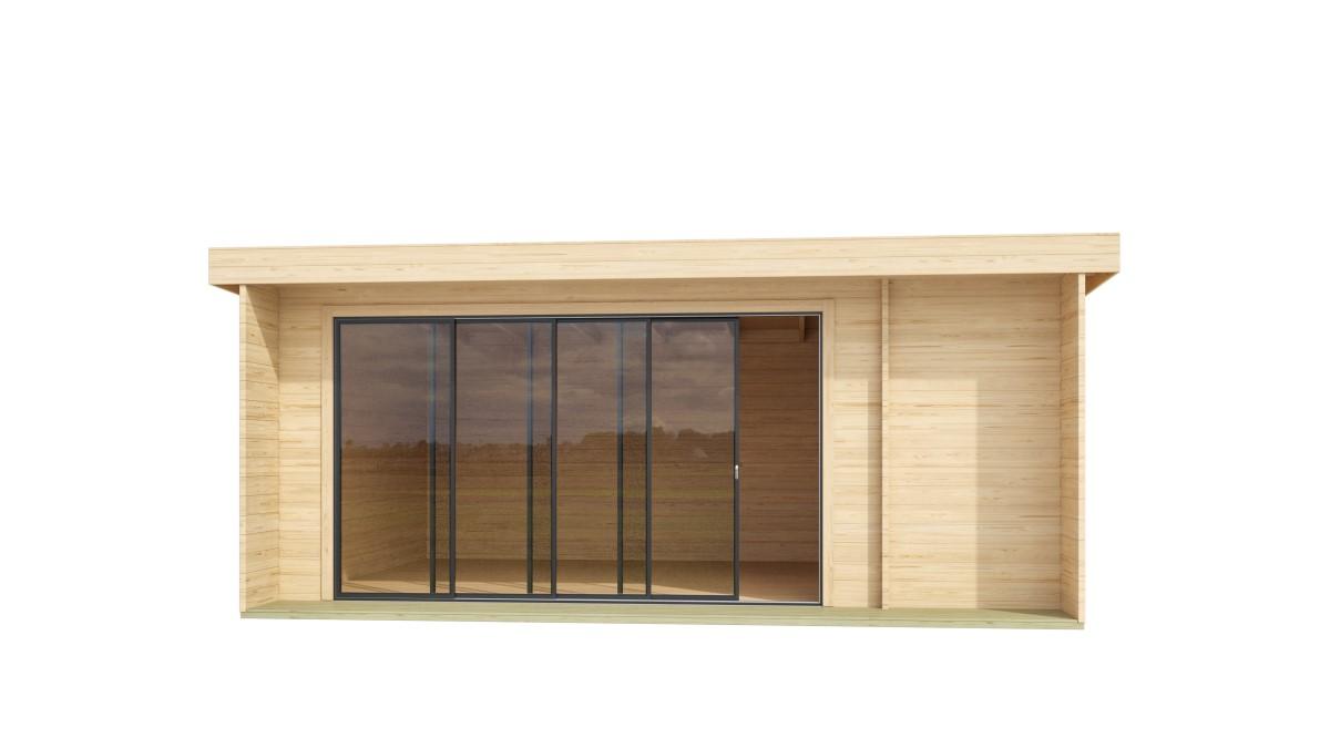 ALU Concept Bianca - 3 room garden house