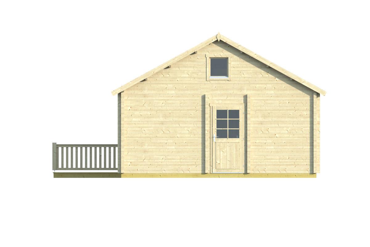 Esmeralda 90 - log house with a steam room
