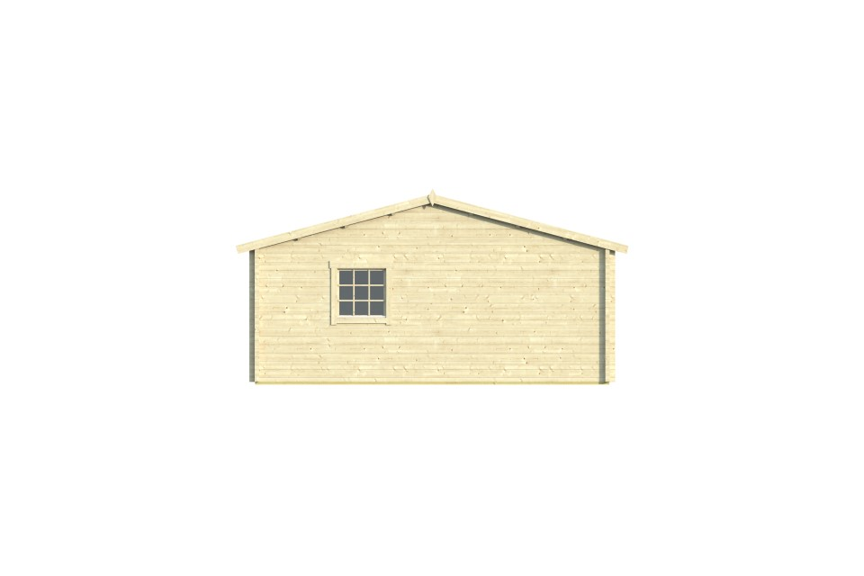 Quadruple garage 70