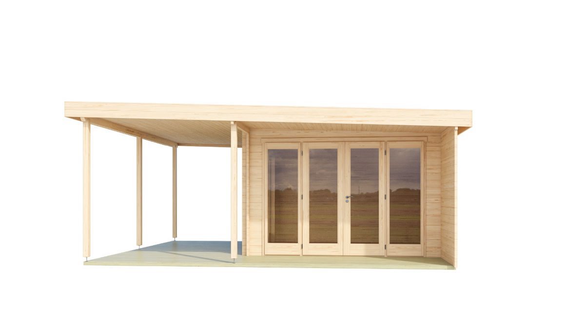 Kayla - home office with large windows