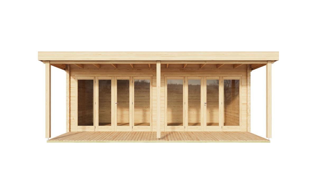 Kelsie - multipurpose garden room with a terrace