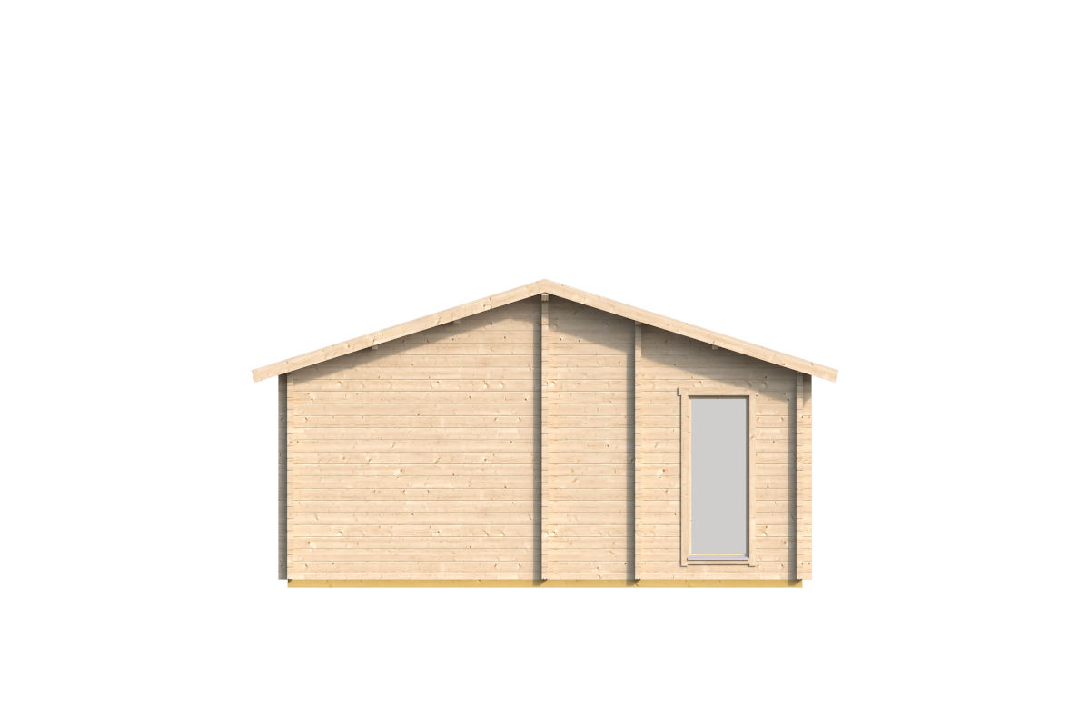 Casablanca - multiple room log cabin