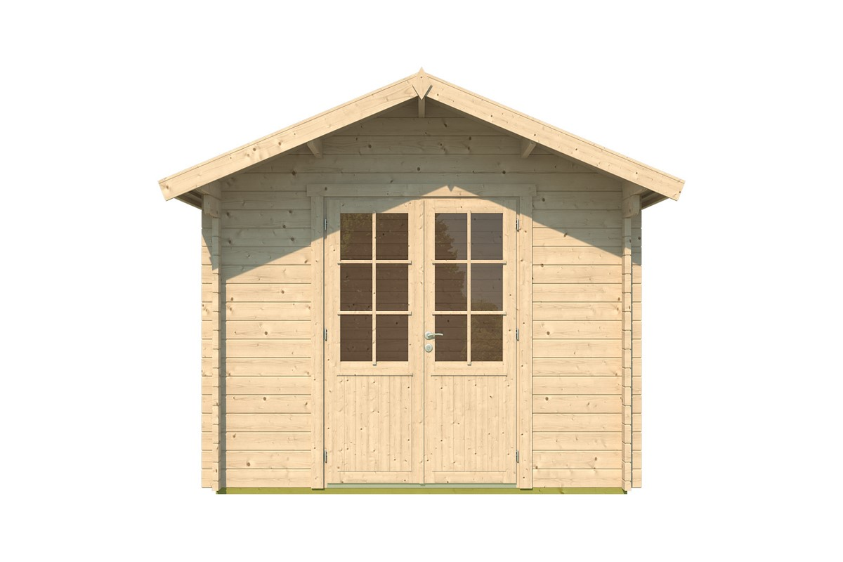 Lena - classical shed for your garden