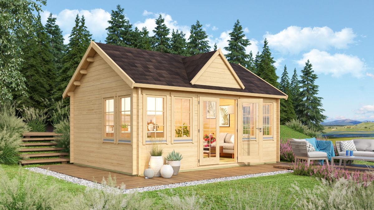 Loretta - a classical garden house