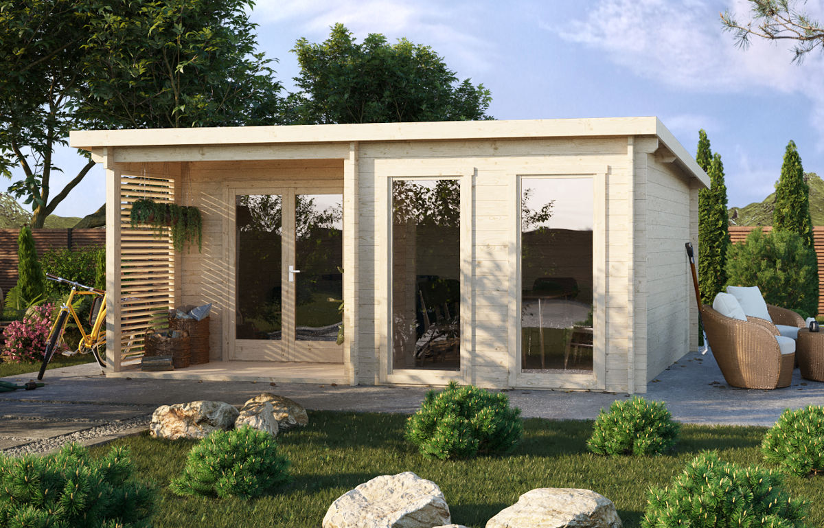 Marianne 44 – home office cabin with large windows