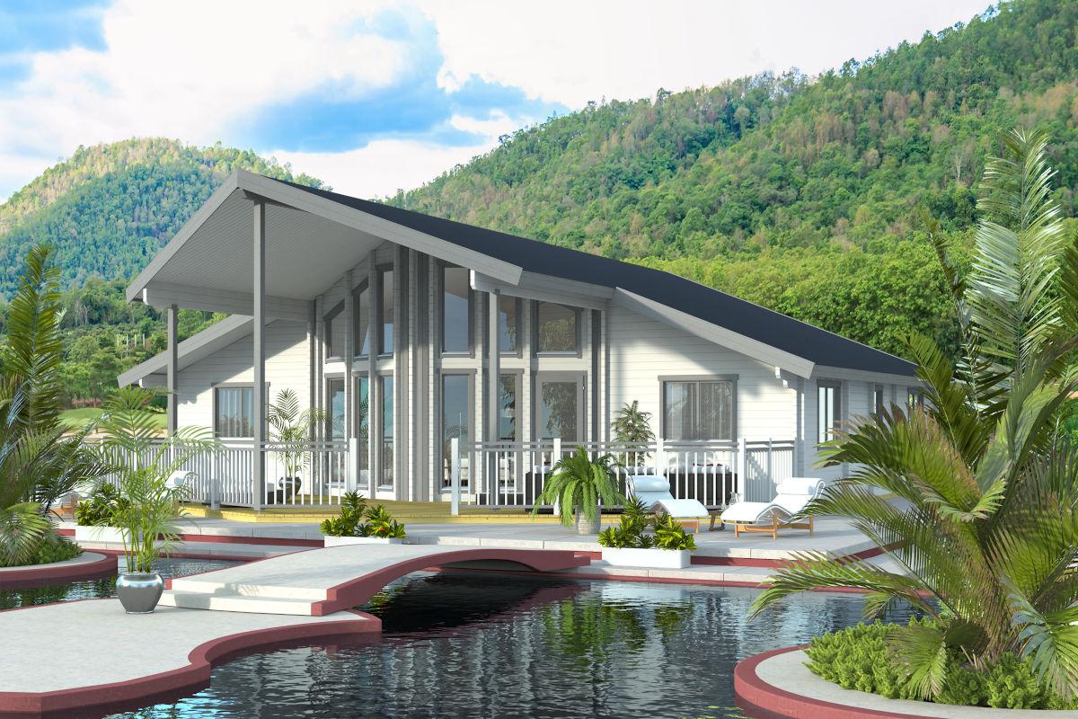 Monserat 70 - luxurious log cabin