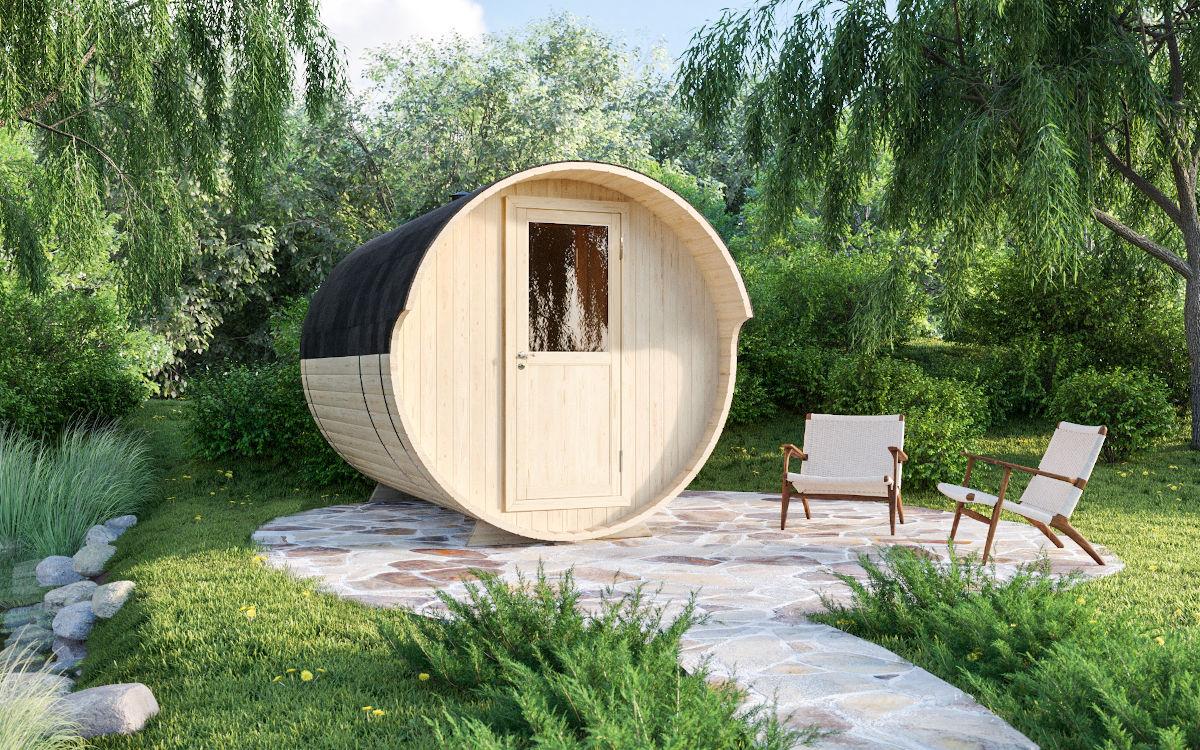 Palma - barrel sauna for 2-4 people