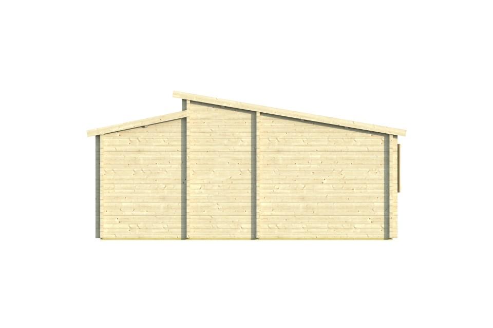 Penelope 70 – a 4-room log cabin