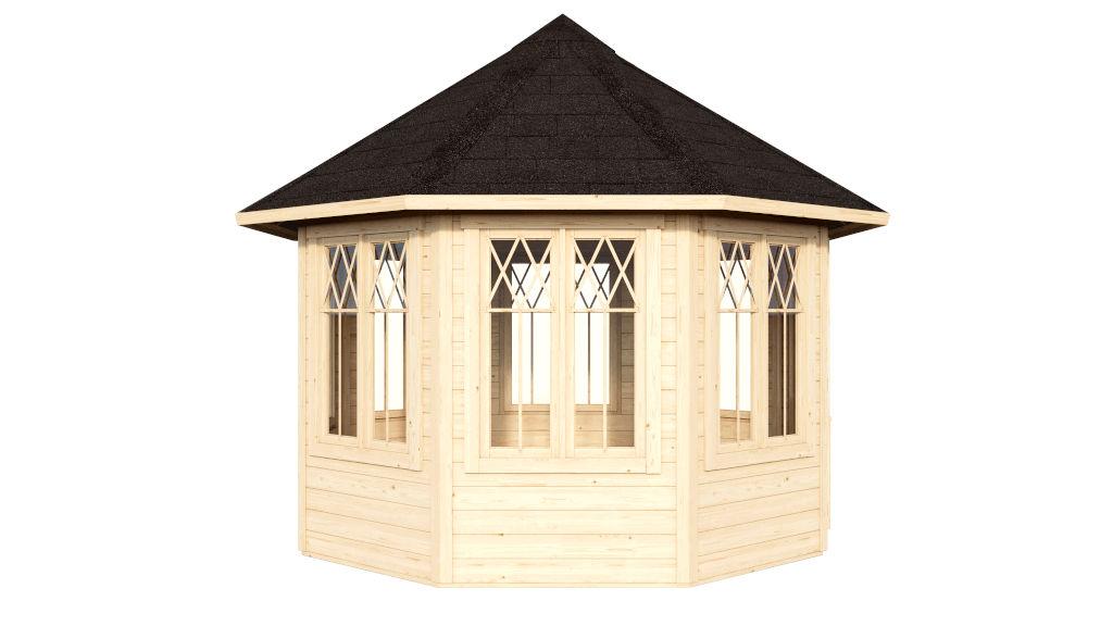 Norabel 7 wooden pavilion