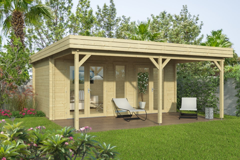 Zoe 44 – a home office with 2 sets of double doors