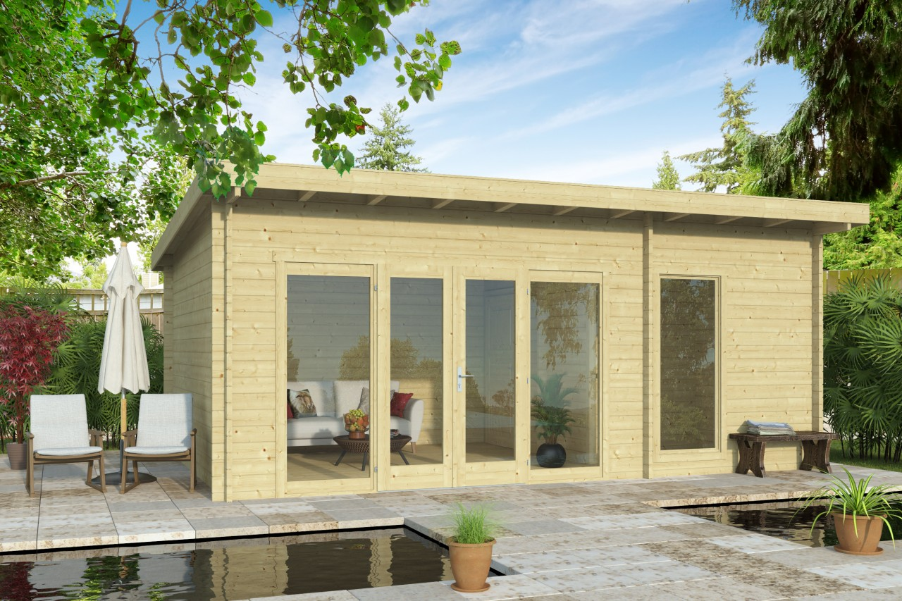 Susan 70 – a simple garden room