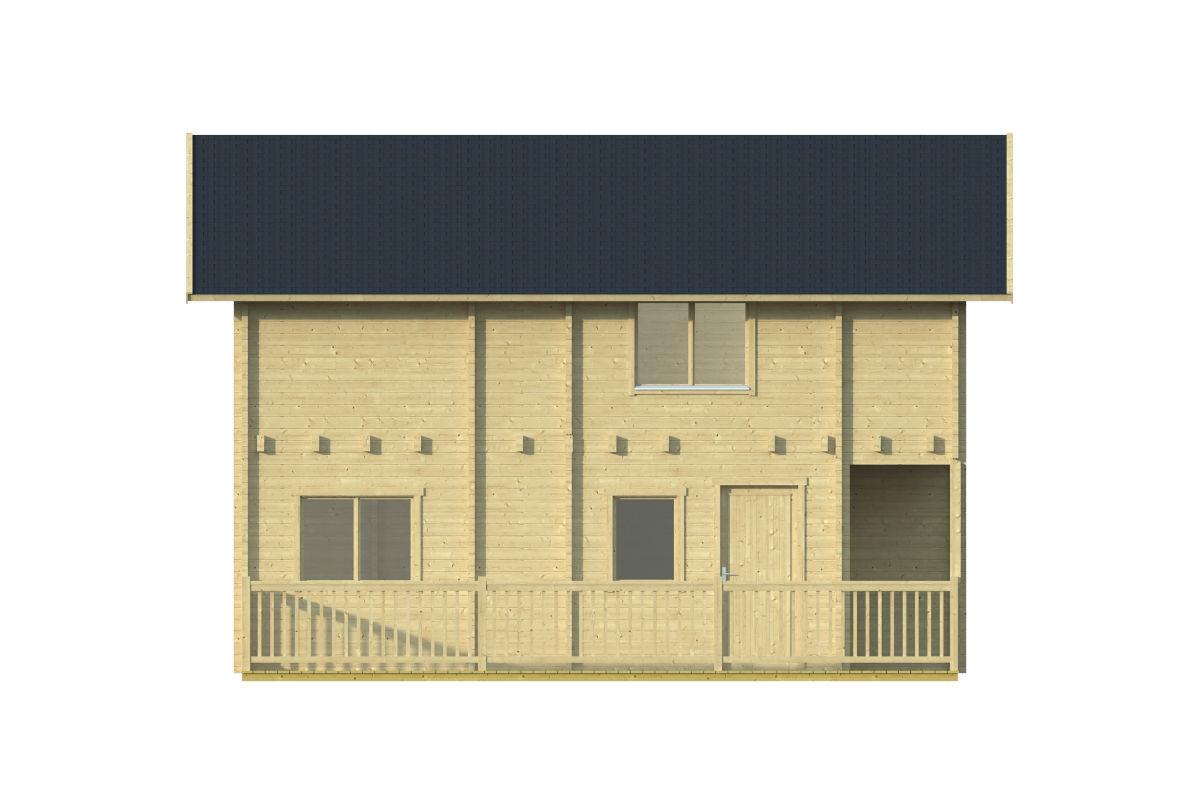Buenasuerte 70 - log house with a terrace